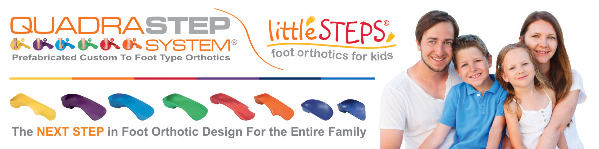 Quadrastep orthotics