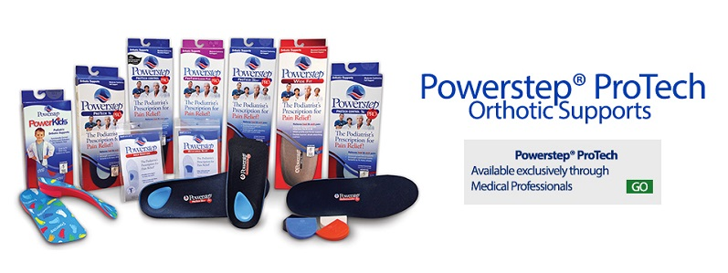 Powerstep protech orthotic supports